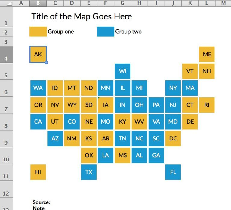 Tile Grid Maps in Excel - Policy Viz Map Excel Data on excel sparkline, excel icons, collaboration map, database data map, excel roadmap, excel templates, excel charting, excel group, excel bubble chart, excel spreadsheet, excel timeline, gis data map, excel histogram, excel software, ascii data map, excel presentation, excel chart sheet, excel screenshot, enterprise data map,