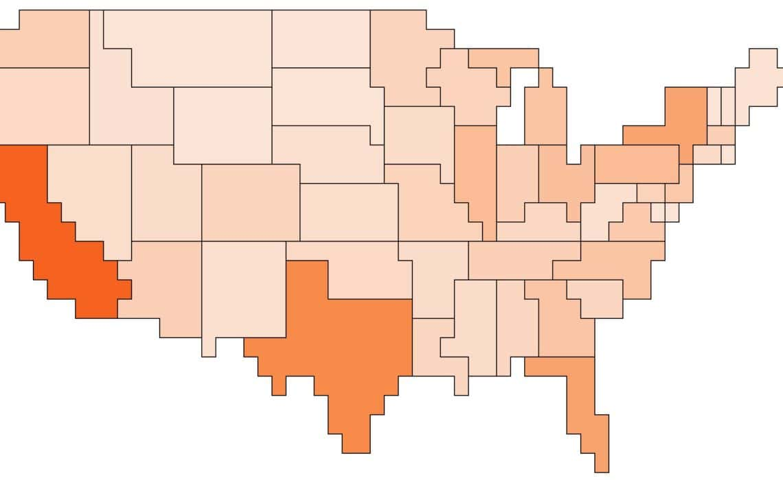 Pixel Maps In Excel Policy Viz - Create us map in excel