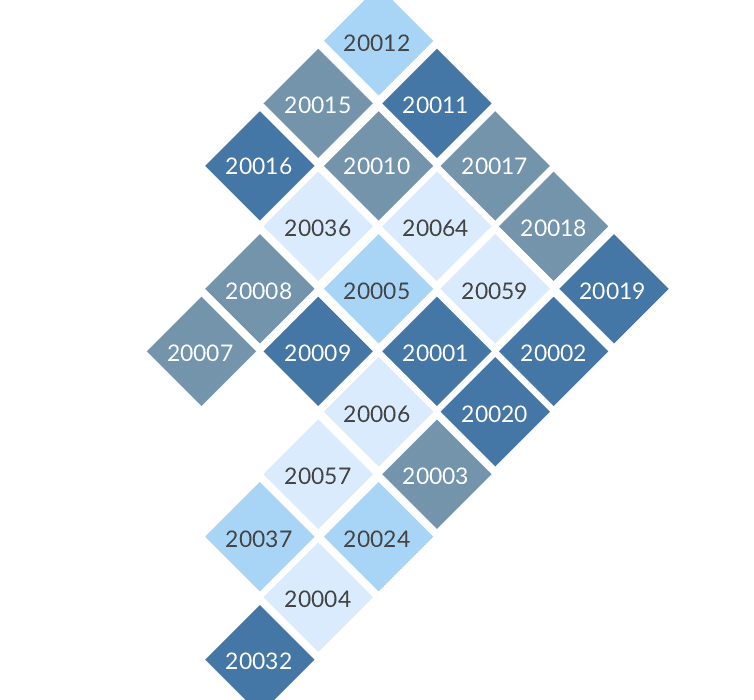 A Tile Grid Map Of Dc Policy Viz